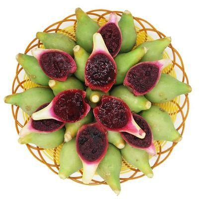 海南现摘水果野生仙人掌果仙桃仙人果花青素5斤/2斤/1斤/6个包邮