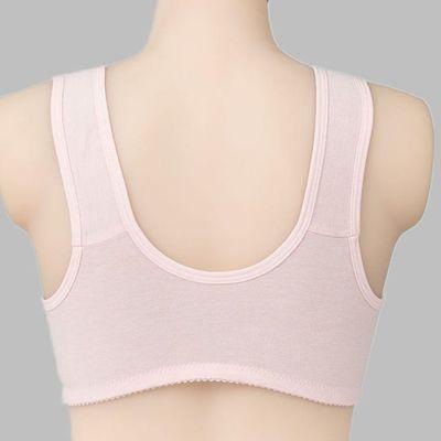 上海古今专柜棉棉布文胸妈妈中老年人老人后扣边扣前扣胸罩