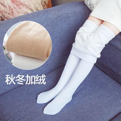 儿童加绒连裤袜女童秋冬款打底裤宝宝薄绒舞蹈袜子中大童加厚丝袜