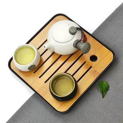 整套陶瓷旅行功夫茶具套装户外家用便携包快客杯一壶二杯四杯茶盘