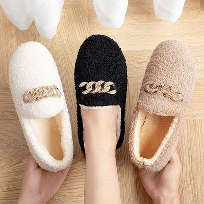豆豆鞋女学生秋冬季韩版百搭保暖厚底新款毛毛鞋休闲运动鞋板鞋女