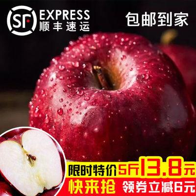 新鲜苹果脆甜甘肃天水花牛苹果10斤糖心苹果整箱可刮泥辅食5斤