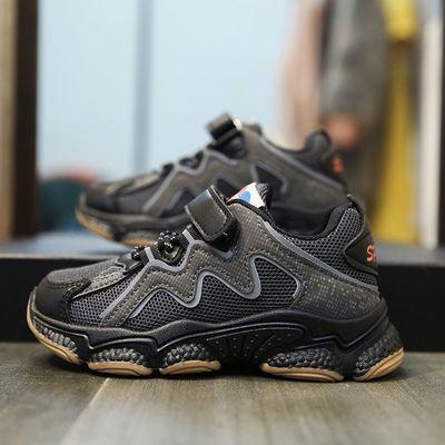 男女童鞋子儿童运动鞋2020秋季新款百搭女孩老爹鞋透气网面韩版潮