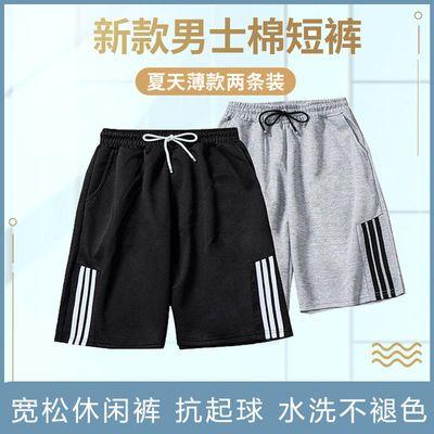 棉短裤男士新款夏天薄款休闲五分运动潮流宽松运动篮球中裤沙滩裤