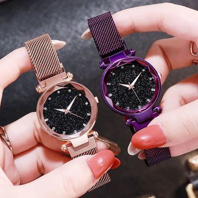 2021年新款气质女神女学生品牌正品石英表女手表简约薄潮流