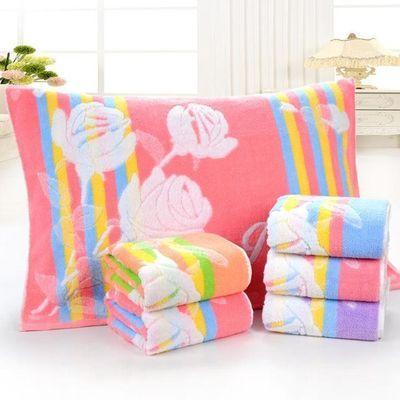 1-2条装纯棉枕巾加厚枕头巾大毛巾柔软吸水一对包邮结婚回礼枕巾