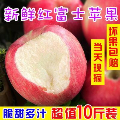【限时特价】山西新鲜红富士苹果现摘水果冰糖心脆甜多汁整箱批发