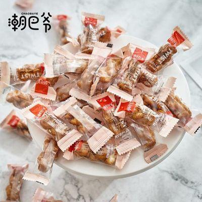 潮巴爷香酥小麻花128g红糖蜂蜜味散装包装办公室休闲网红零食包邮