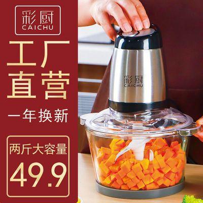 彩厨绞肉机家用电动小型打肉馅蒜蓉搅拌饺搅碎菜器料理多功能神器