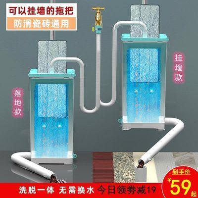免手洗平板高档拖把家用干湿两用旋转吸水网红懒人拖地神器一拖净