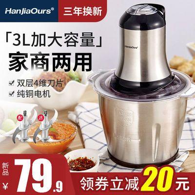【五年质保】绞肉机家用电动多功能厨房绞馅机不锈钢搅拌机绞菜机