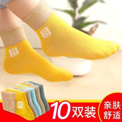 春秋冬儿童袜子厚款保暖舒适孩子男女童小中大童学生宝宝中筒袜子