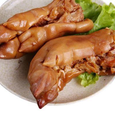 卤味猪蹄熟食香卤整只猪蹄酱卤味真空包装猪脚熟食零食500g-2500g