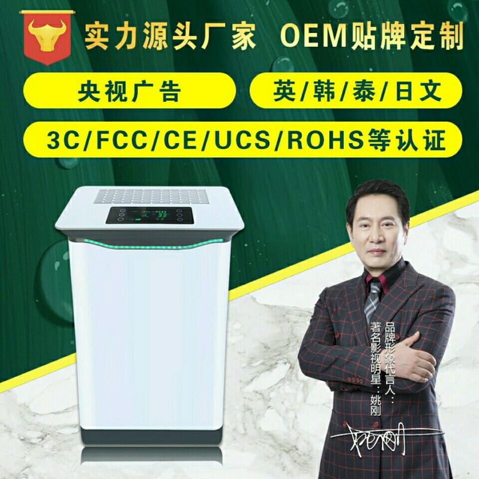 智能负离子空气净化器 家用过滤烟雾除甲醛雾霾PM2.5家电生活电器