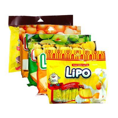 77796/【官方直售】越南进口Lipo面包干(300g*2袋)组合口味 饼干零食