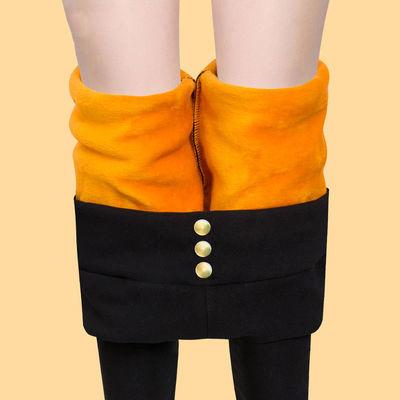 【加绒加厚80-165斤可穿】外穿打底裤子韩版显瘦大码长女裤铅笔裤