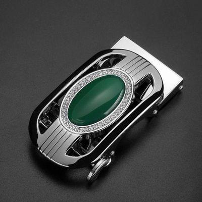 【买二送真皮带】宝石镶钻皮带扣2020新款潮品热卖35MM自动腰带扣