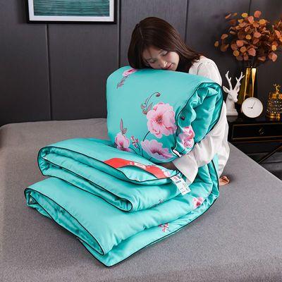 美丽瑄家纺全棉蚕丝被100%桑蚕丝被子冬被加厚保暖直播间粉丝专享