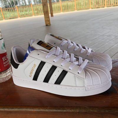 金标经典贝壳头三叶草男女同款板鞋情侣休闲运动鞋时尚百搭小白鞋