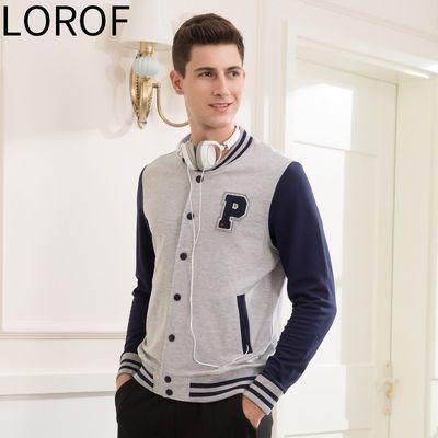 鹿绒飞品牌折扣字母时尚休闲棒球衫夹克