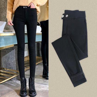 打底裤女外穿薄款2020新紧身小脚小黑裤高腰显瘦夏裤子
