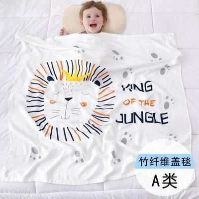 婴儿竹纤维包巾比抱被纯棉产房包单全棉襁褓裹巾布春夏秋冬盖毯