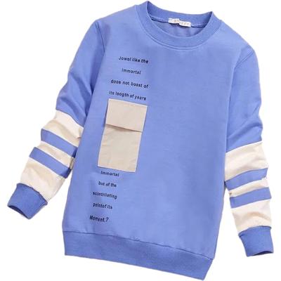 男童秋新款洋气卫衣2020秋冬季韩版儿童装中大 童薄上衣套头潮款