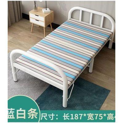 【住宅家具】加固加厚折叠床单人床简易床铁床家用双人床儿童床铺