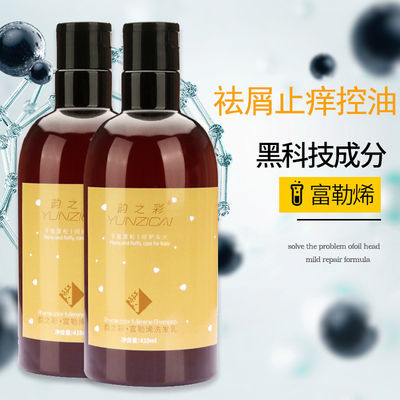 富勒烯洗发水沐浴露套装护发素乳洗头膏控油止痒去屑持久留香水味