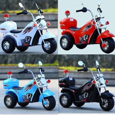 男女孩宝宝婴儿儿童电动车摩托车电瓶三轮车充电可坐人可骑玩具车