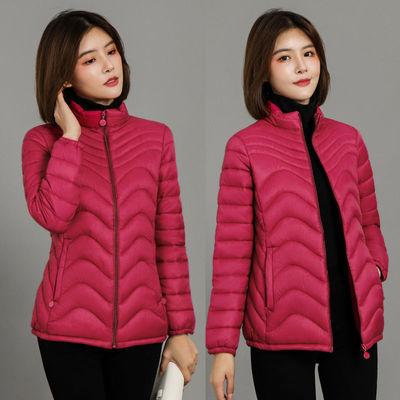 冬天棉服短款女2020冬季新款羽绒棉衣修身外套宽松加厚棉袄中老年