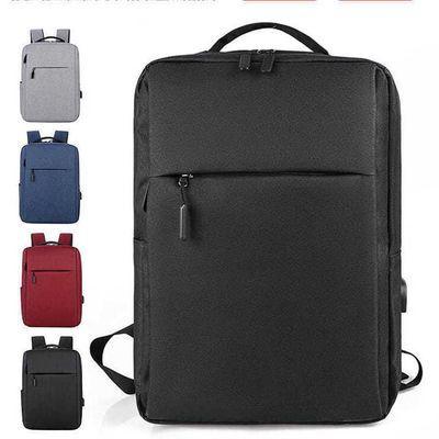 新款商务双肩包男电脑包背包牛津布包休闲学生书包女大容量旅行包