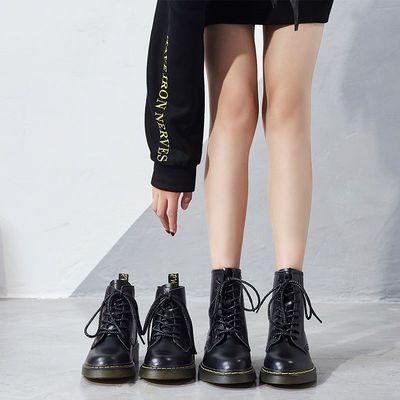 马丁靴女春秋单靴英伦风潮ins2020新款短靴夏季薄款显脚小瘦瘦靴