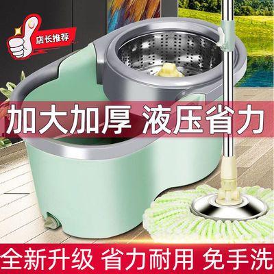 旋转拖把家用免手洗懒人免洗干湿两用墩布拖地神器拖布桶甩干桶