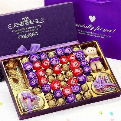 德芙巧克力圣诞节平安夜双11礼品脱单礼物礼盒装生日礼物女友闺蜜