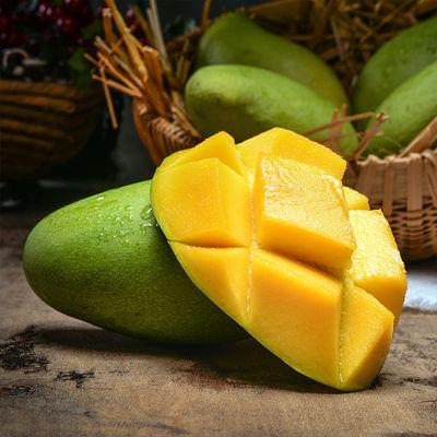 越南进口玉芒芒果3/5/9斤 大果新鲜青皮热带水果现摘果园批发包邮