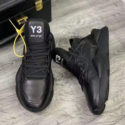 男鞋y3秋季2020新款潮鞋黑武士学生韩版运动老爹鞋子透气休闲鞋女