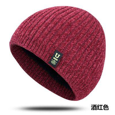 62263/秋冬季针织毛线帽韩版加绒加厚保暖护耳防风滑雪帽休闲男女套头帽