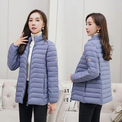 2020新款中老年冬季外套棉衣女短款韩版轻薄小棉袄女妈妈装棉服女