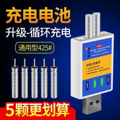 56220/夜光漂电池CR425电子漂电池充电器通用针式夜钓鱼漂浮漂充电电池