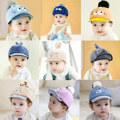 宝宝鸭舌帽春秋款棒球帽男潮薄款秋冬婴儿帽女童遮阳帽可爱太阳帽