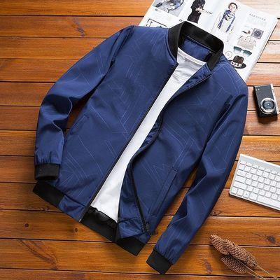 外套男士春秋季新款韩版休闲修身潮流帅气中青年上衣夹克衫衣服男