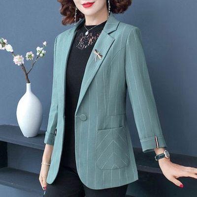 67499/妈妈秋装外套40岁50短款洋气西装2020新款中年女春秋气质减龄上衣