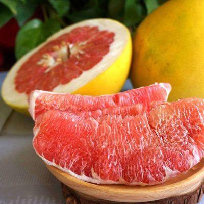 红心蜜柚福建平和管溪柚子整箱批发新鲜水果薄皮蜜柚现摘现发包邮