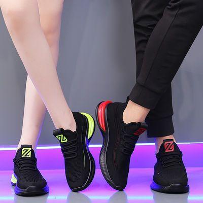 秋冬软底曳步舞鞋舒适男女同款夏季广场舞鞋镂空网面舞蹈鞋跳舞鞋