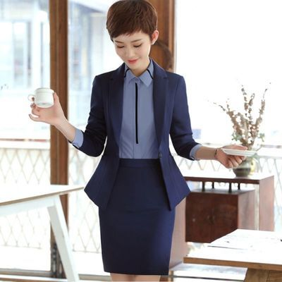 职业装女套装春秋时尚气质上班经理工作服总裁西装高端正装西服