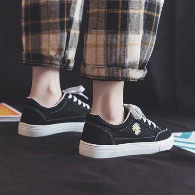 时尚版型,帆布鞋,引领潮流低帮交叉绑带系带橡胶