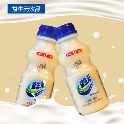 益生元乳酸菌330ml*12瓶乳味饮料新日期早餐酸奶饮品学生儿童饮料