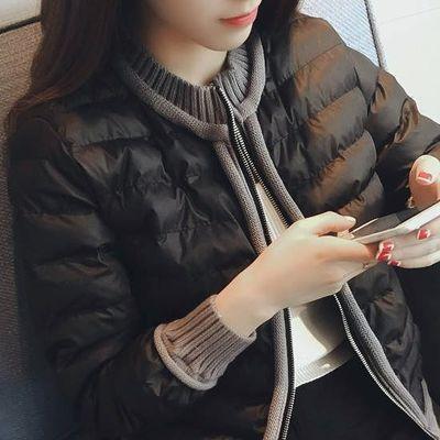 89609/加肥加大码棉衣女秋冬新款短款外套200斤胖mm棉服宽松显瘦小棉袄