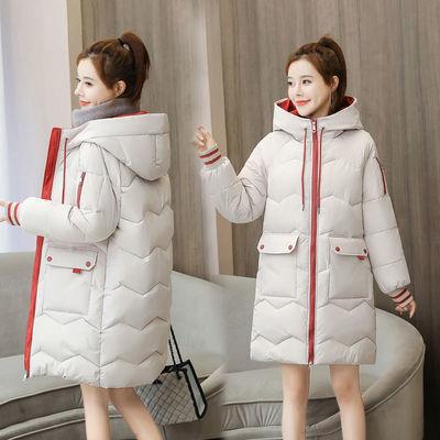反季棉服女中长款加厚韩版宽松百搭羽绒棉衣女学生棉袄冬季外套潮